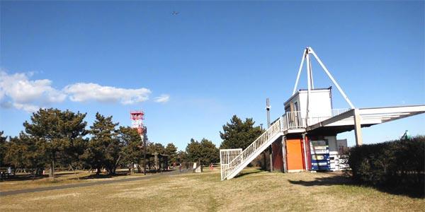 城南島海浜公園・スケボー広場はローラースケート、インラインスケートが利用できる公園