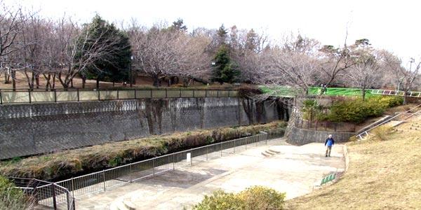 祖師谷公園はローラースケート、インラインスケートが利用できる公園